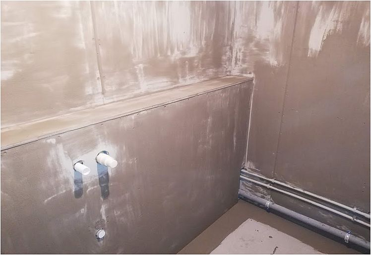 Ремонт квартир под ключ - гидроизоляция